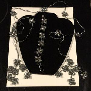 Jewelry - BoHo Beaded Belt and Necklace, Like NEW!